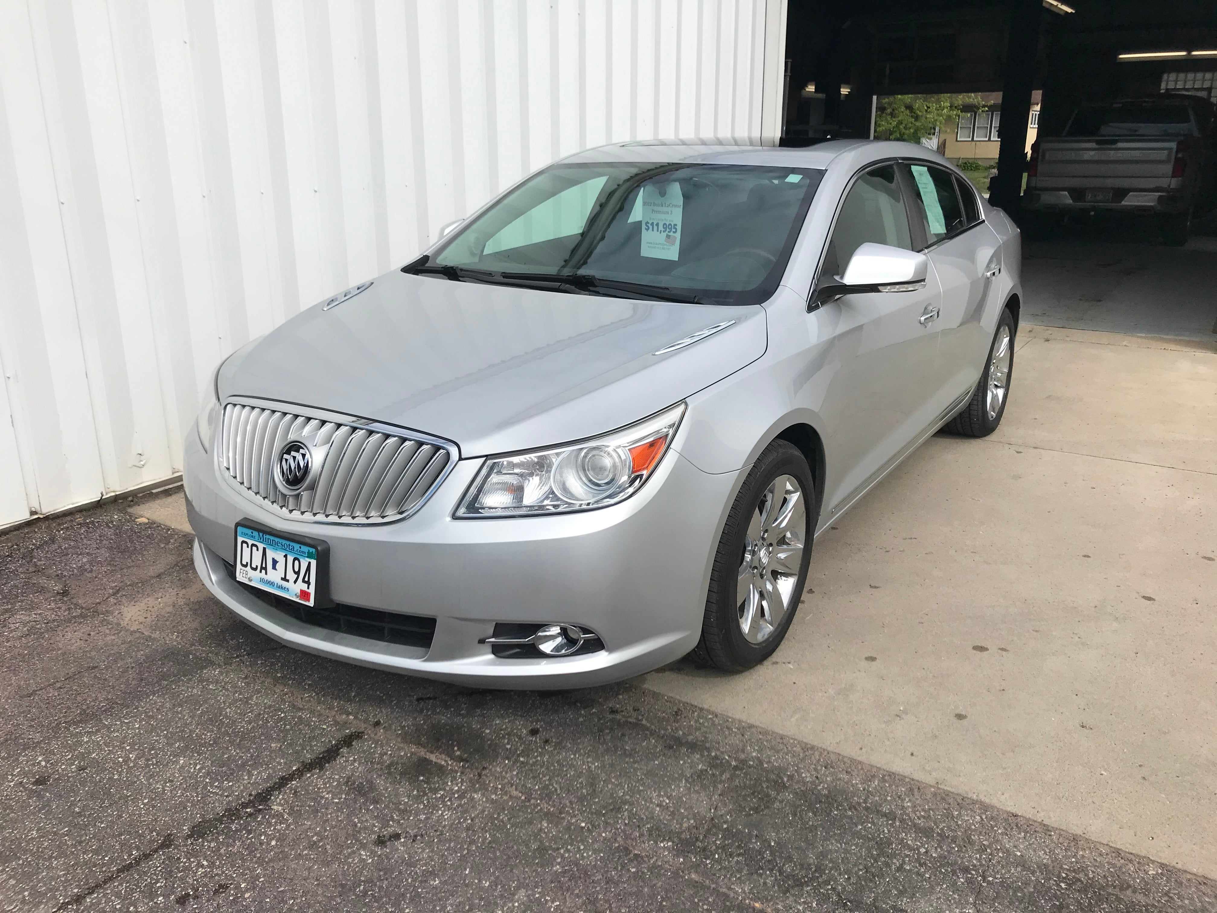 Used 2012 Buick LaCrosse Premium 3 with VIN 1G4GH5E39CF362848 for sale in Arlington, Minnesota
